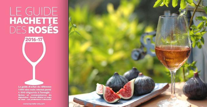 Notre rosé «Rêverie» sélectionné par le guide Hachette des rosés !