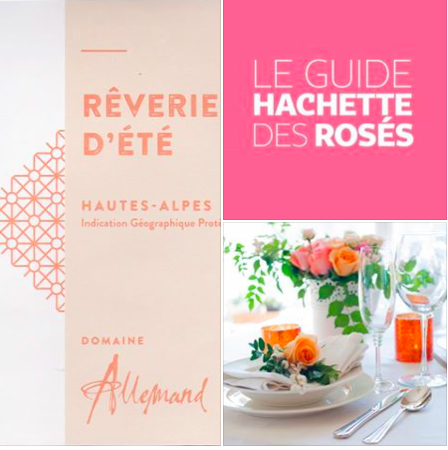Notre Rosé Rêverie sélectionné au Guide Hachette !